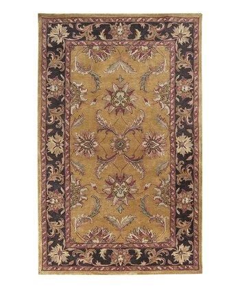 Rosy Clay Ancient Treasures Wool Rug