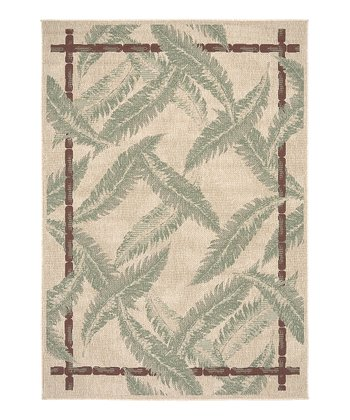 Tan Feather Alfresco Rug