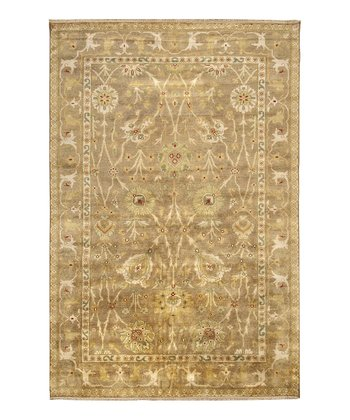 Tan Antolya Wool Rug