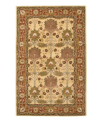Butter & Rose Bungalo Wool Rug