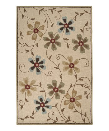 Light Beige Centennial Wool Rug