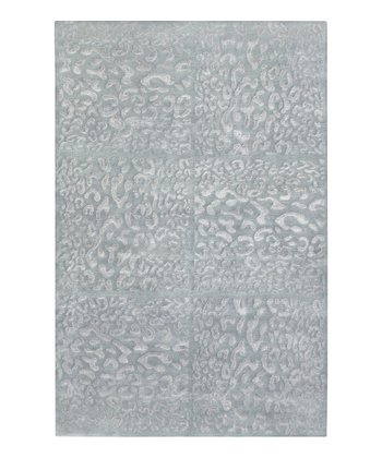 Gray & Blue Decadent Wool Rug