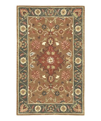 Sepia Empire Wool Rug