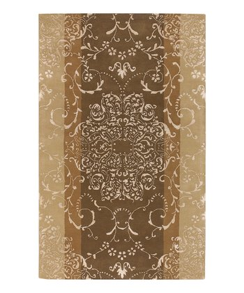 Brown Essence Wool Rug