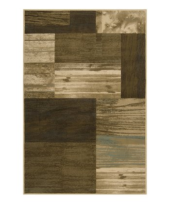 Feather Gray & Driftwood Brown Harmony Rug