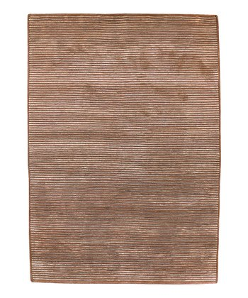Brick Stripe Mugal Wool Rug