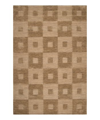 Raw Umber Indus Valley Wool Rug