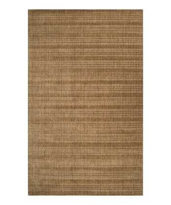 Mocha Indus Valley Wool Rug