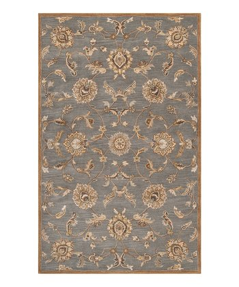 Bay Leaf Kensington Wool Rug