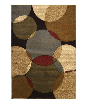 Dark Brown Majestic Rug