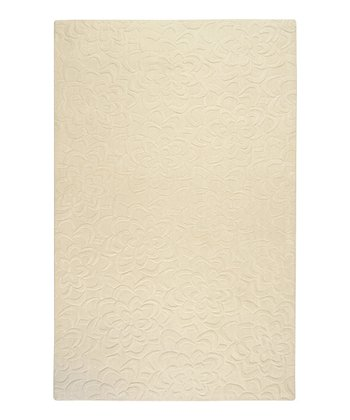 Parchment Sculpture Wool Rug