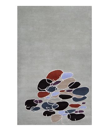 Light Green Signature Wool Rug