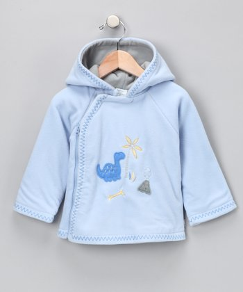 Cornflower Microfleece Zip-Up Jacket - Infant