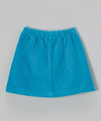 Turtle Blue Skirt - Infant, Toddler & Girls