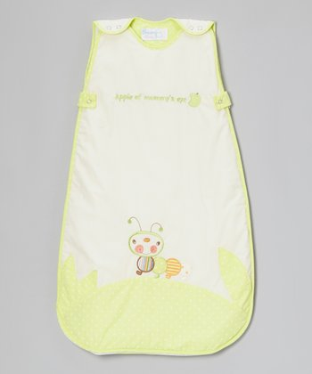 White 'Apple of Mummy's Eye' Sleeping Sack - Infant