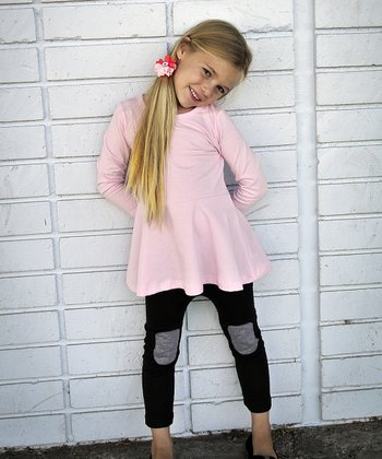 Pink Skirted Tunic - Toddler & Girls