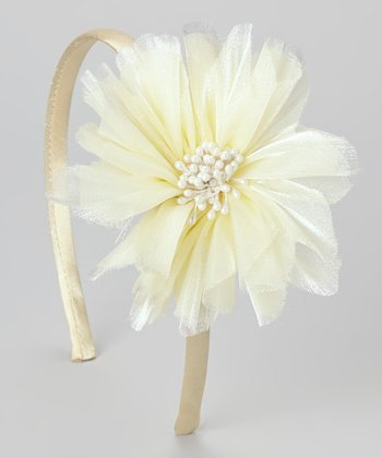 Ivory Bloom Headband