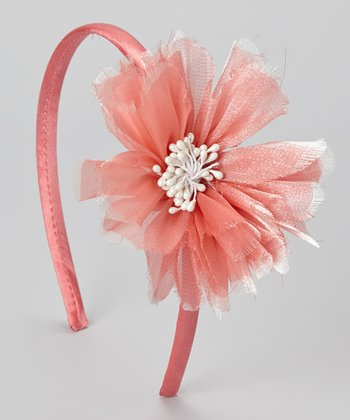 Coral Bloom Headband