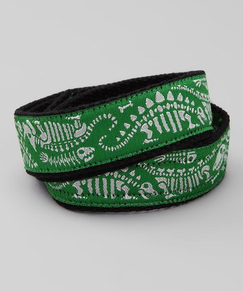 Green Dinosaur Velcro Belt
