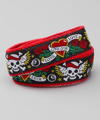 Rock 'n' Skull Velcro Belt