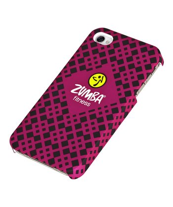 Fuchsia & Black Zumba Case for iPhone 4/4S