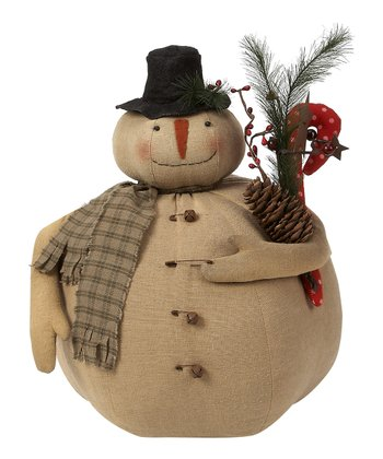 Marty the Snowman Plush Figurine