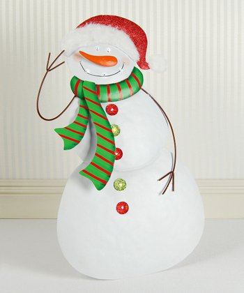 Light-Up Standing Snowman