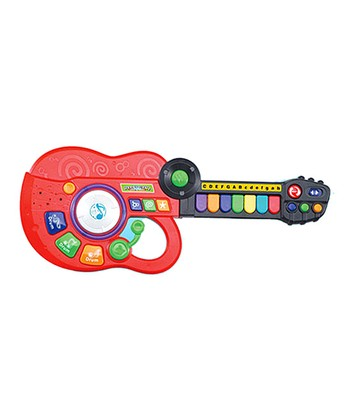 Red Three-in-One Music Guitar Band Instrument