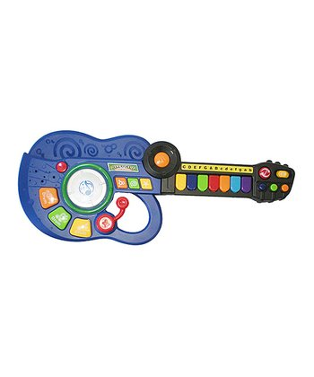 Blue Three-in-One Music Guitar Band Instrument