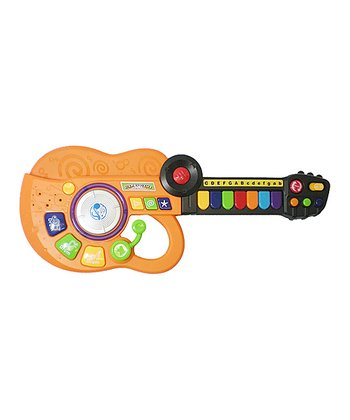 Orange Three-in-One Music Guitar Band Instrument