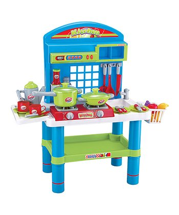 Deluxe Musical Kitchen Play Set