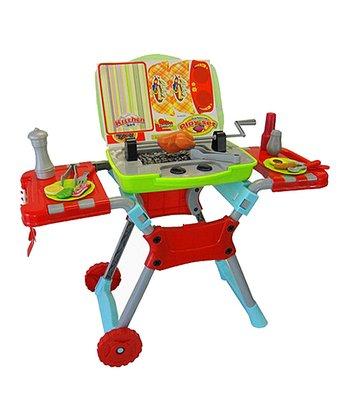 Music Barbeque Grill Play Set