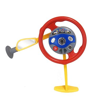 Musical Backseat Steering Wheel