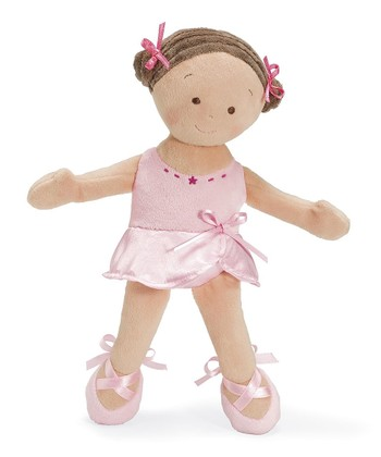 Brown-Haired Ballerina Little Princess™ Doll