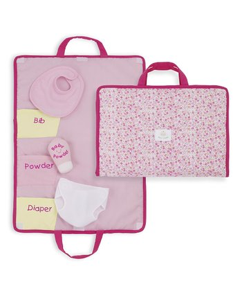 Rosy Cheeks™ Baby Doll Changing Pad Set