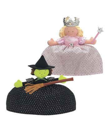 Good Witch & Bad Witch Topsy Turvy™ Doll