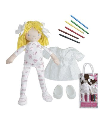 Blonde Carla Color-Me™ Doll Set