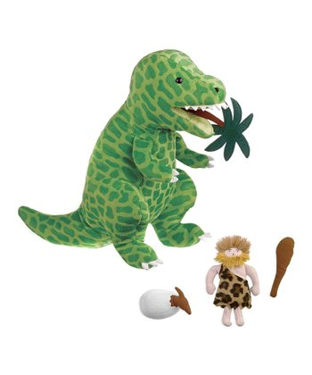 Big Mouth Dinosaur Plush Toy Set