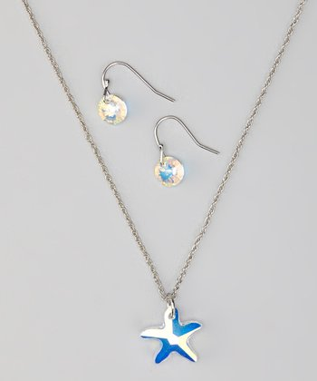 Star Necklace & Earrings Made With SWAROVSKI ELEMENTS