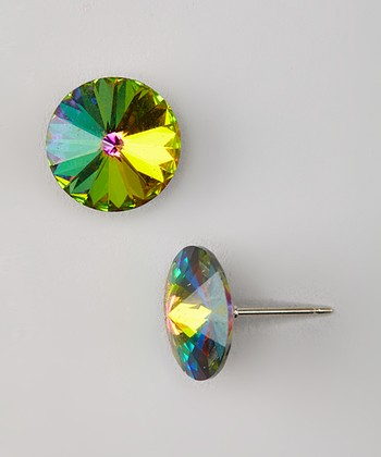 Vitrail Rivoli Stud Earrings Made with SWAROVSKI ELEMENTS