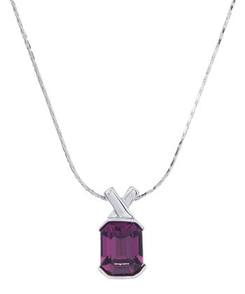 Purple Savvy Pendant Necklace Made With SWAROVSKI ELEMENTS