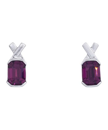 Amethyst Savvy Drop Earrings Made With SWAROVSKI ELEMENTS
