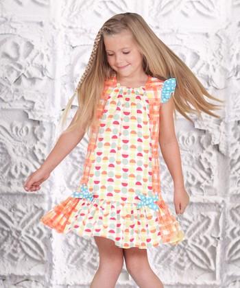 Yellow Floral Adeline Dress - Toddler & Girls