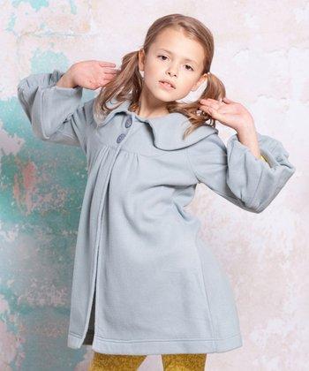 Light Blue Bee Classic Coat - Infant, Toddler & Girls