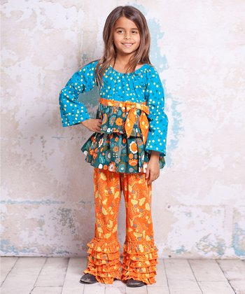 Agra Nicola Playwear Top & Pants - Infant, Toddler & Girls
