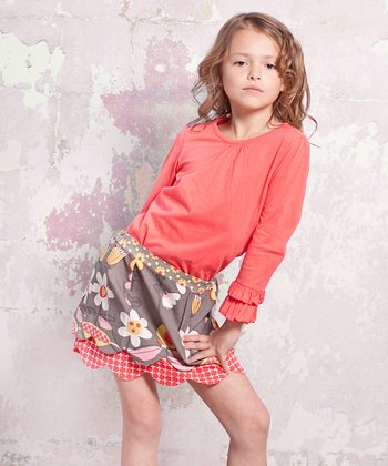 Indian Summer Lindsay Top & Skirt - Infant, Toddler & Girls