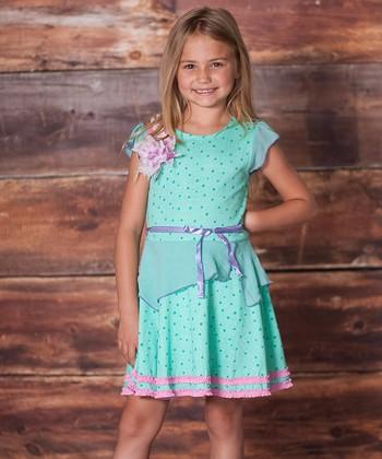 Minty Juliet Dress - Infant, Toddler & Girls