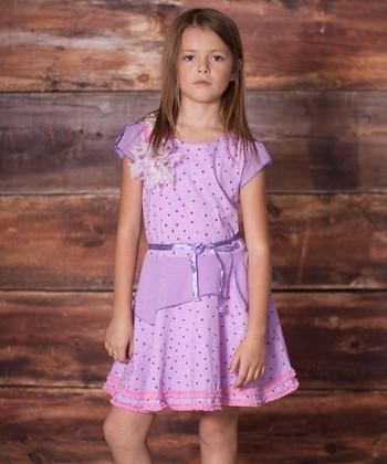 Violet Juliet Dress - Infant, Toddler & Girls