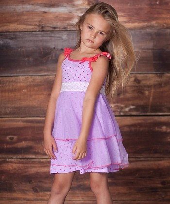 Violet Dancer Dress - Infant, Toddler & Girls