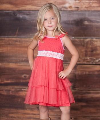 Raspberry Dancer Dress - Infant & Toddler